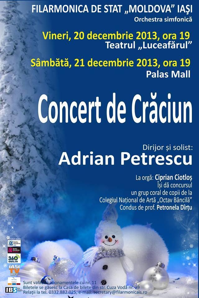 concert-de-craciun-adrian-petrescu-iasi-filarmonica-palas-teatru-luceafarul