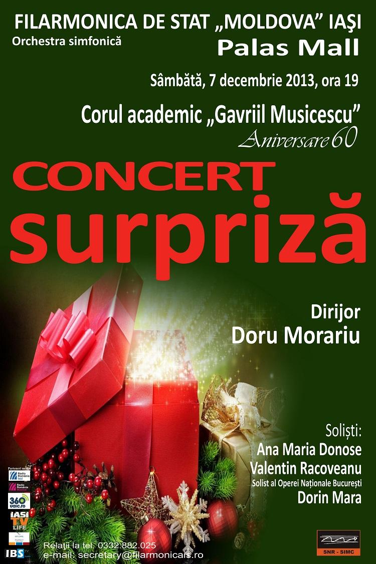 concert-surpriza-dirijor-doru-morariu-filarmonica-de-stat-moldova-iasi-palas-mall-afis-7-decembrie-2013