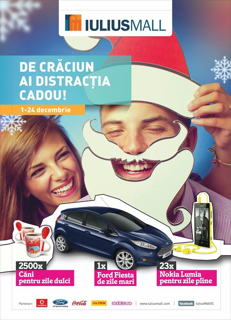 iulius-mall-de-cracun-ai-distractia-cadou-afis-premii-ford-fiesta-iasi-2013