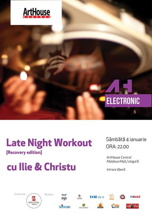 late-night-workout-cu-ilie-si-christu-arthouse-iasi-afis-2014