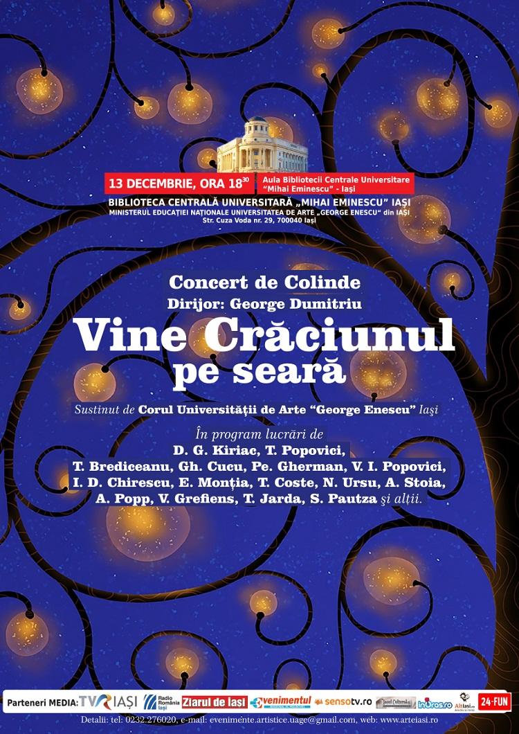 vine-craciunul-pe-seara-concert-iasi-colinde-2013-afis