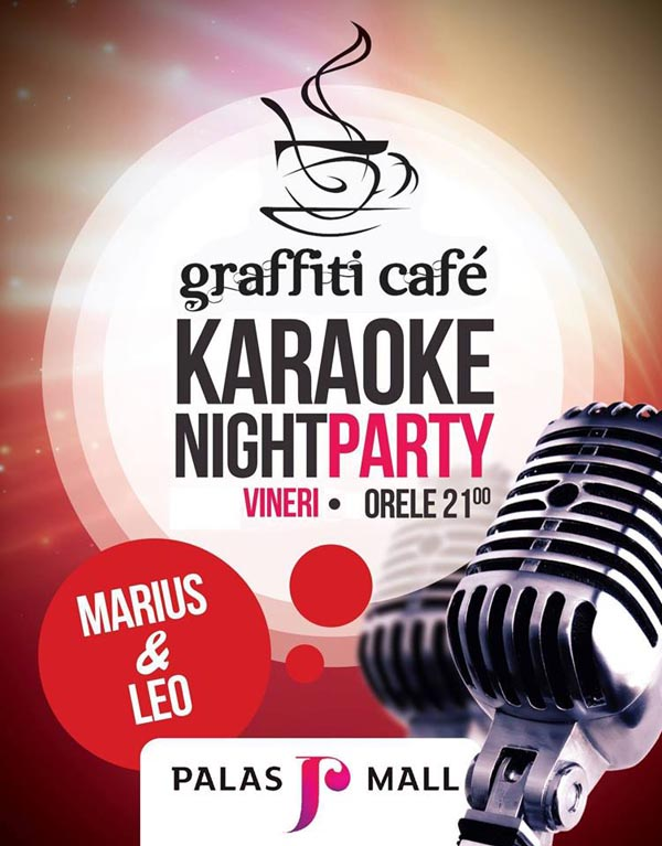 Karaoke Party in Graffiti Cafe