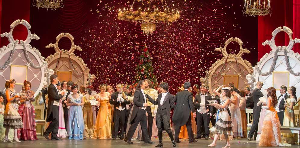 Spectacolul de opereta: Liliacul