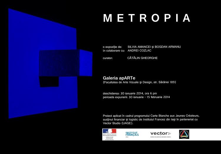 Metropia, instalatie expozitionala transmediala de Bogdan Armanu si Silvia Amancei