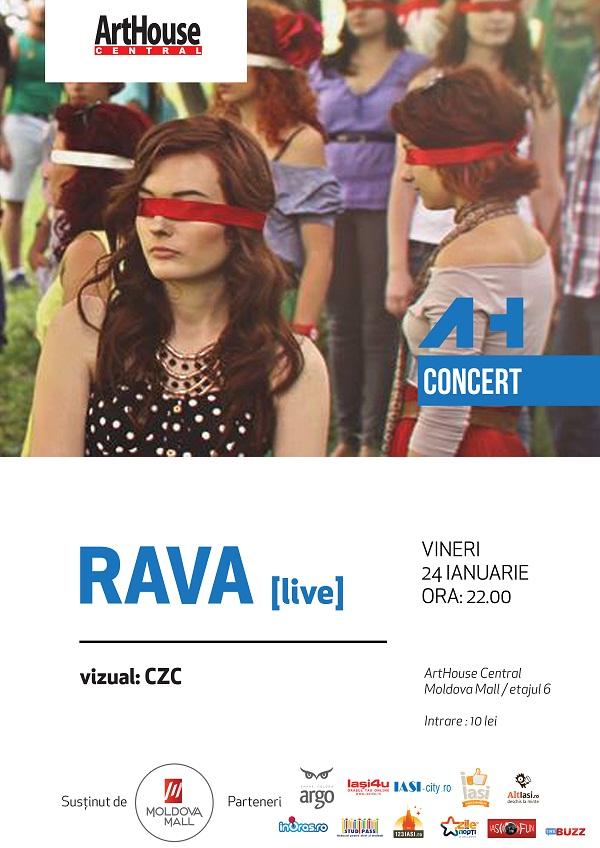 rava-czc-concert-arthouse-central-iasi-afis-24-ianuarie-2014
