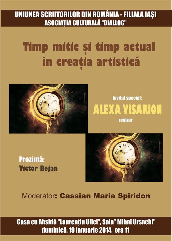 Intalnire cu Alexa Visarion