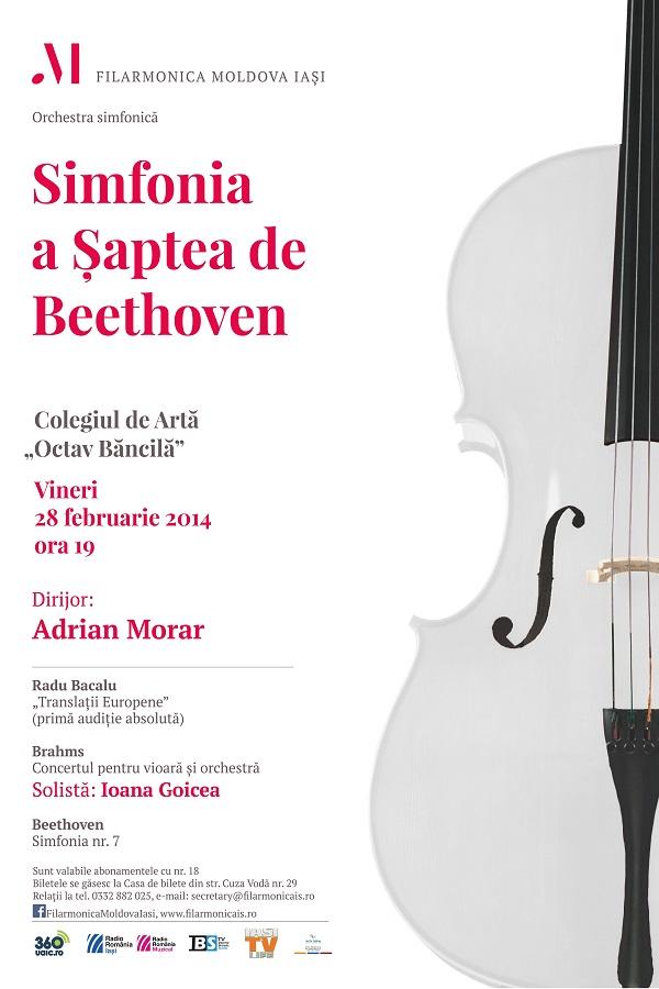 28 februarie 2014-filarmonica-iasi-simfonia-a-saptea-de-beethoven-afis