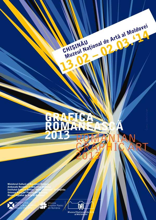Expozitia Grafica Romaneasca 2013 la Chisinau