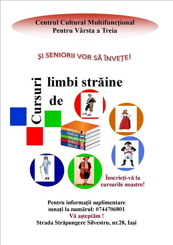 cursuri-limbi-straine-centrul-cultural-multifunctional-pentru-varsta-a-treia-iasi-afis