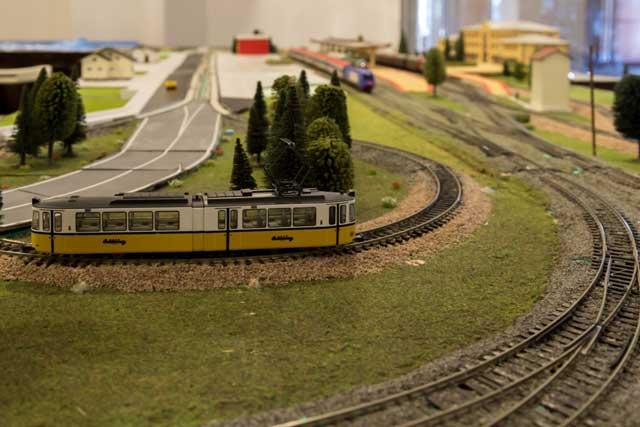 Expozitie de modelism feroviar