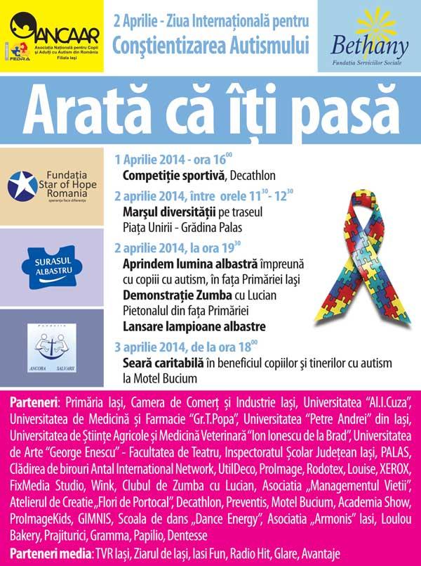 Ziua Internationala de Constientizare a Autismului - 2 aprilie