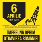 6 aprilie 2014 ziua nationala de protest impotriva fracturarii hidraulice