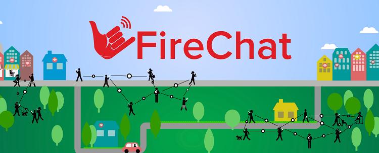 FireChat aplicatie ios foto