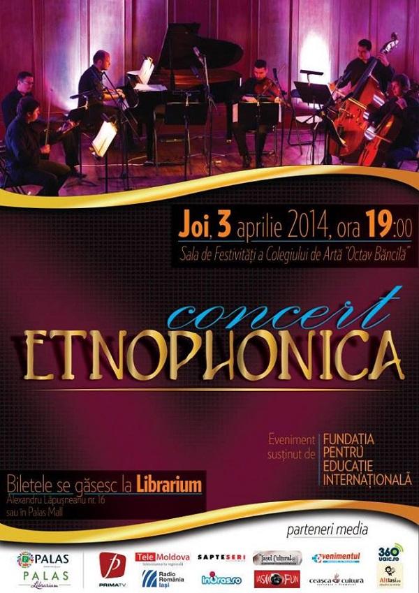 concert etnophonica afis iasi 3 aprilie
