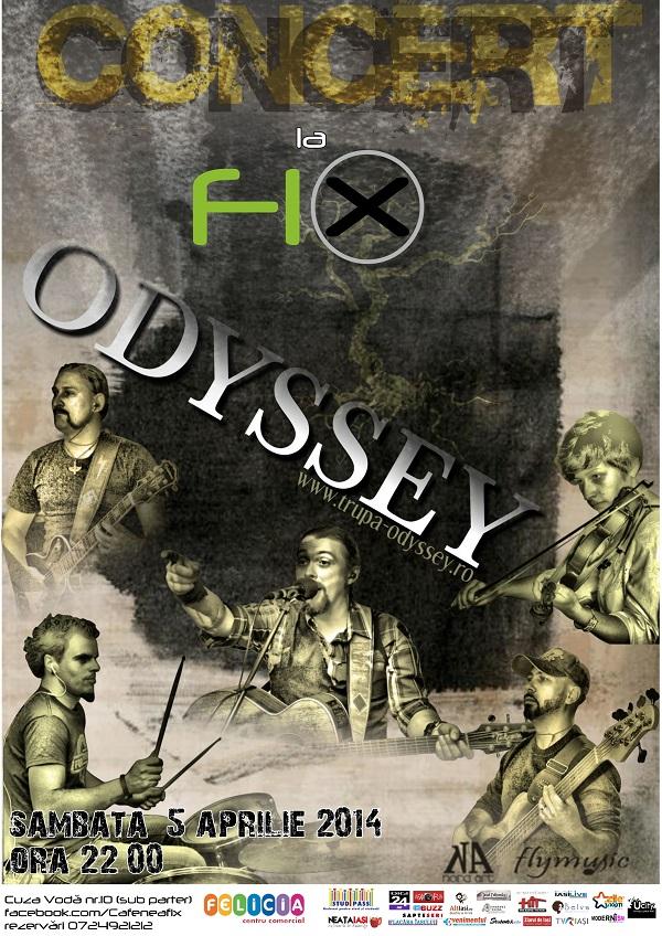 concert odyssey teatru fix afis iasi
