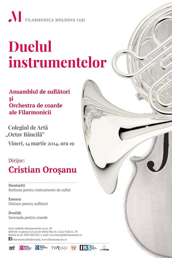 duelul-instrumentelor-afis-filarmonica-iasi-14 martie 2014