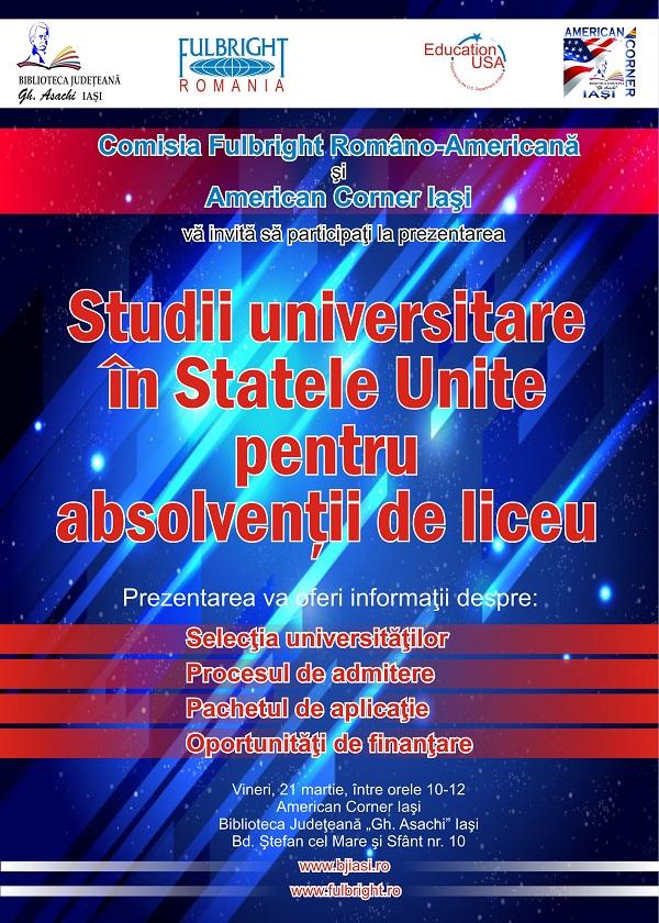 studii-universitare-in-statele-unite-pentru-absolventii-de-liceu-afis-iasi
