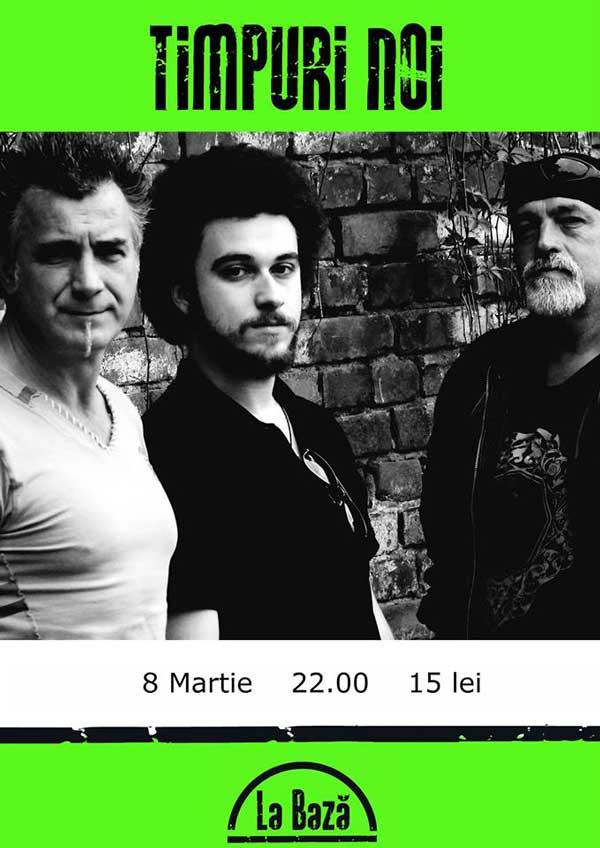 Concert Timpuri noi - La Baza