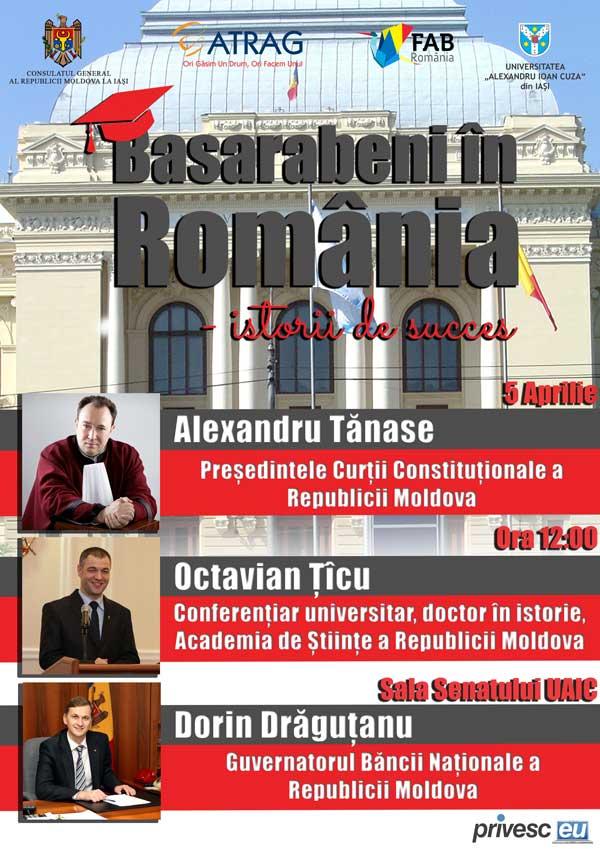 Basarabeni în România – istorii de succes!