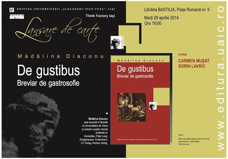 Lansare Madalina Diaconu Bucuresti-afis-2014