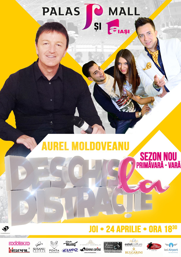 Aurel Moldoveanu la emisiunea ''Deschis la distractie''