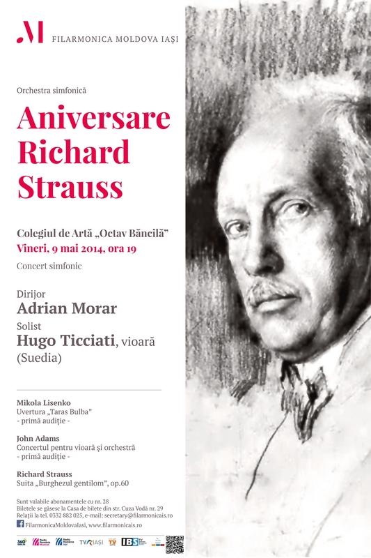 aniversare-richard-strauss-afis-iasi 9 mai 2014