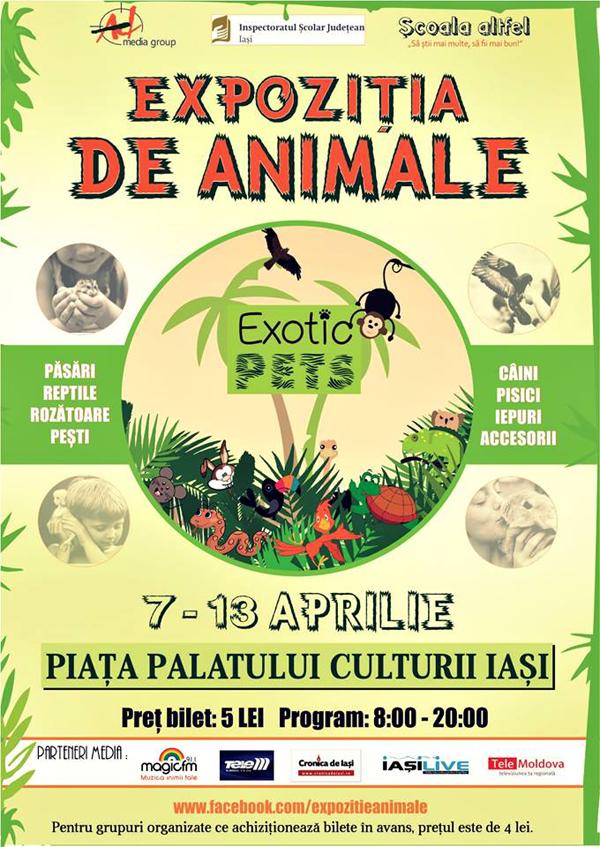expozitia de animale - exotic pets - iasi, aprilie 2014