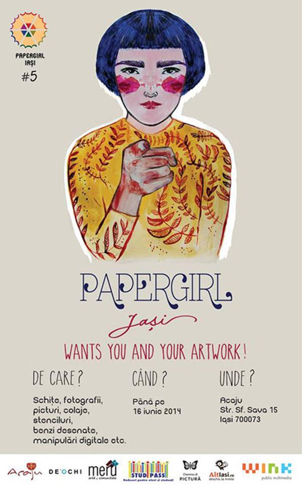 Ateliere de creatie Papergirl