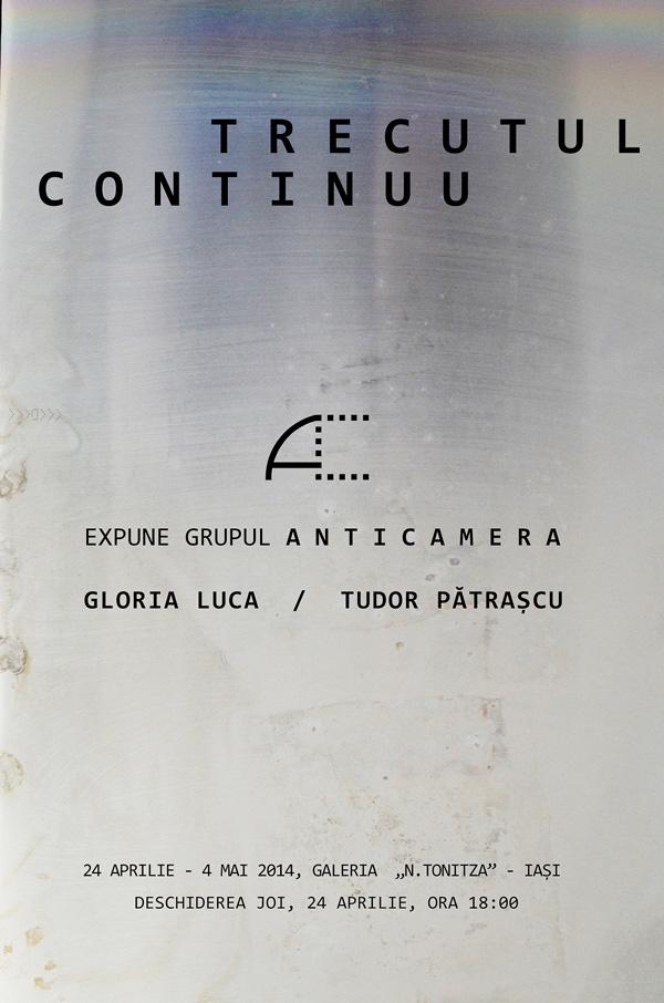 ''Trecutul continuu'', un proiect expozitional marca ''Anticamera''