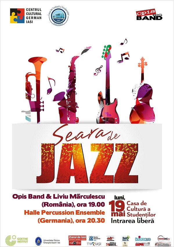 Afis_Seara de jazz_iasi-casa-de-cultura-a-studentilor-2014