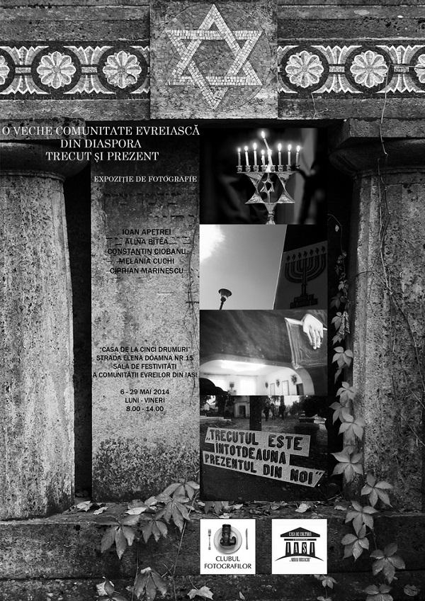 O veche comunitate evreiască din Diaspora -afis-iasi-2014