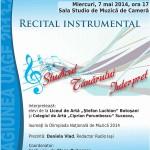 Studioul tanarului interpret-recital-uage-afis-iasi-2014