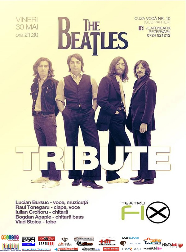 The-Beatles-Tribut-teatru-fix-iasi-afis-2014