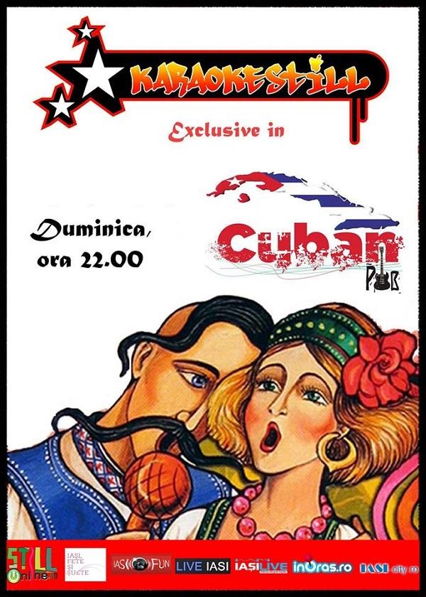 duminica-e-karaoke-in-cuban-pub-iasi-afis