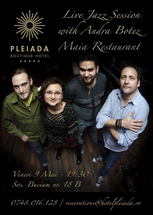 Live Jazz cu Andra Botez