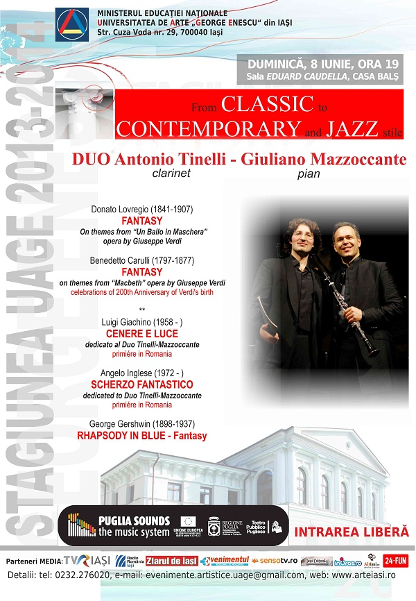 Recital-de-clarinet-si-pian-de-DUO-TINELLI-MAZZOCCANTE-Italia-afis-iasi