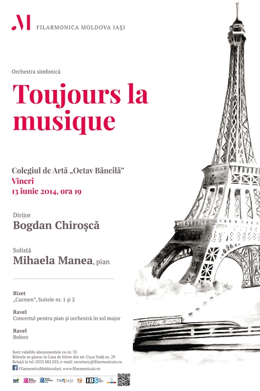 Toujours-la-musique-Concert simfonic-13-iunie-2014-afis-iasi