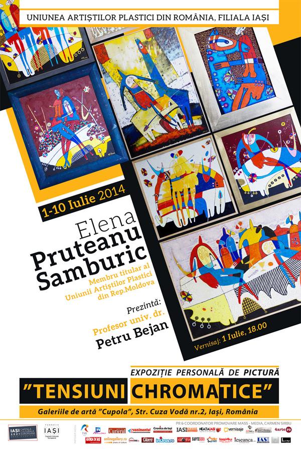 Afis-Elena-Pruteanu-Samburic-2014-iasi-expozitie