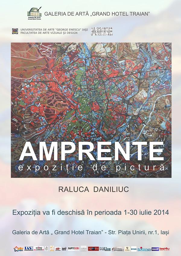 Afis expo iulie 2014 Raluca Daniliuc