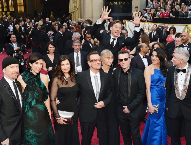 Benedict Cumberbatch-U2