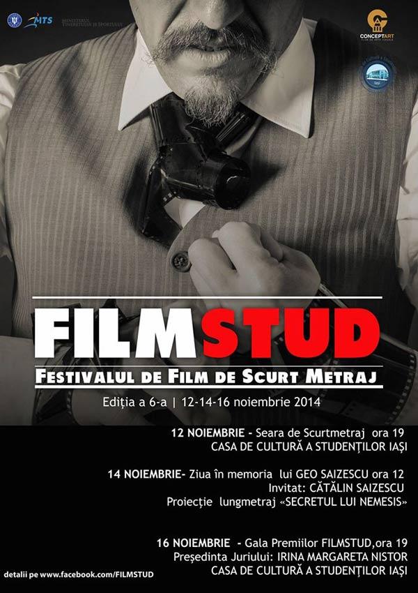filmstud 2014 festivalul de film de scurt metraj a ajuns la a vi a