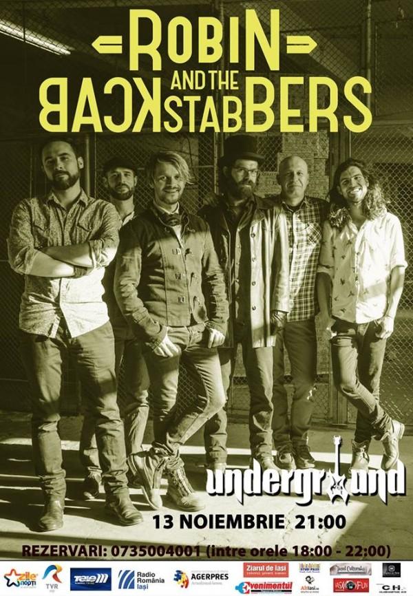 robin backstabers-underground