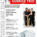 2014.11.13.Concert Sunrise Trio Italia