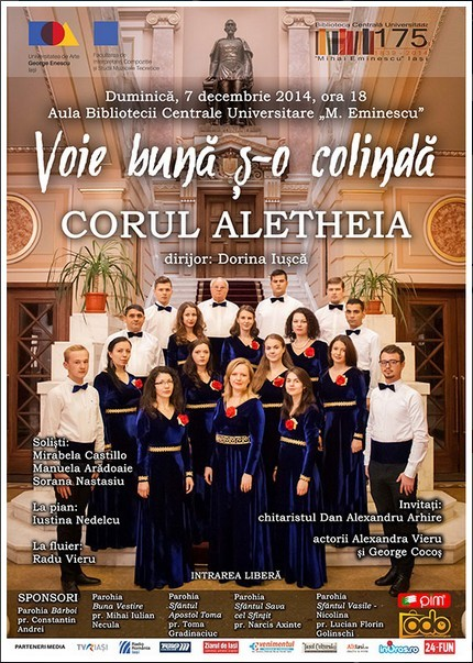 Concert Aletheia-afis-iasi