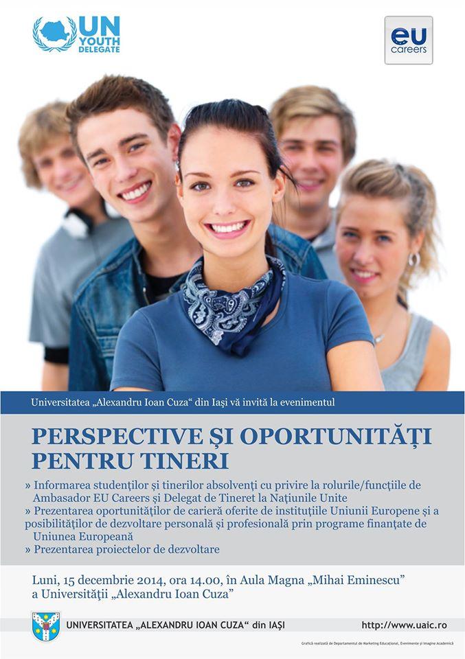 oportunitati tineri