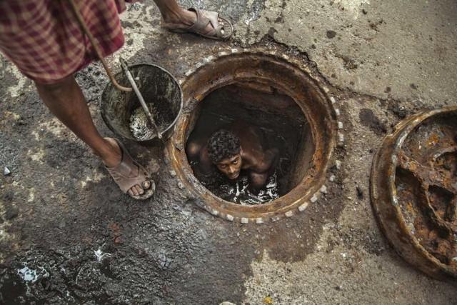 sewage-worker