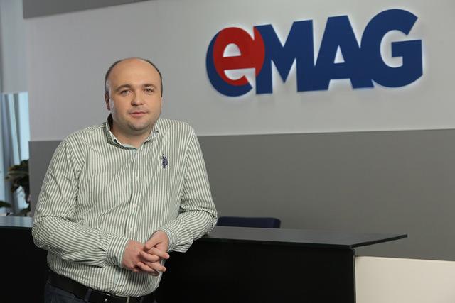 Tudor Manea_Vicepresedinte si Director HRTehnologie, eMAG