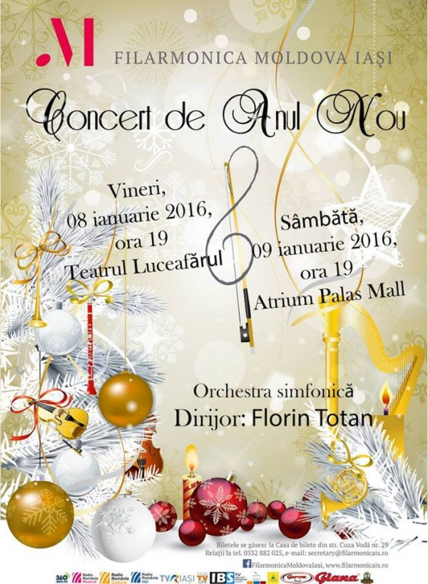 concert anul nou-filarmonica