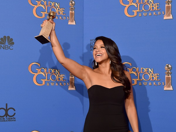 72nd Annual Golden Globe Awards - Press Room