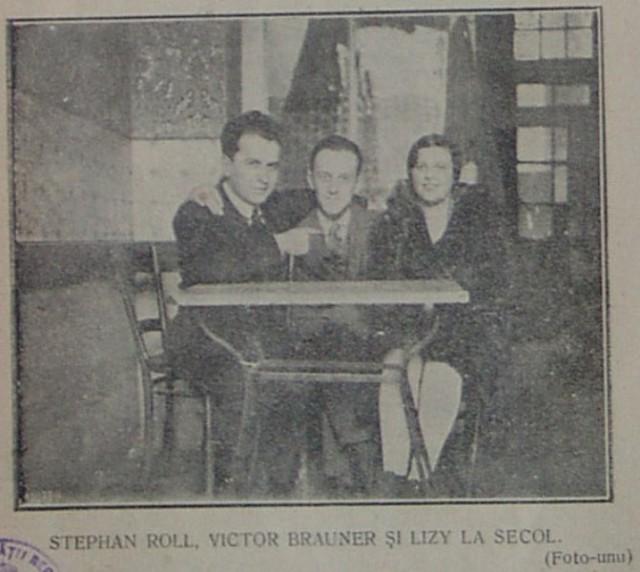 STEPHAN ROLL, VICTOR BRAUNER ȘI LIZY LA SECOL